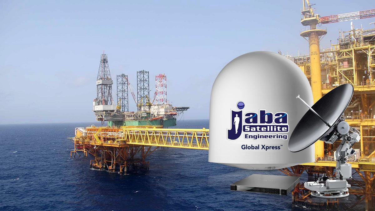 Conectividad offshore de banda ancha confiable y de alto rendimiento, para aplicaciones críticas en el negocio